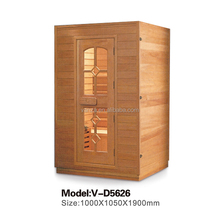 Rectangle Shape Finland Wooden Spectrum Sauna Room