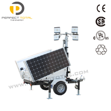 Best solution for construction Solar LED Lighting Towers