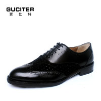 Pure manual genuine leather sole Upper Material Men's shoes