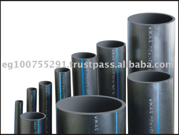 HDPE PIPE FOR WATER AND GAS NETWORKS