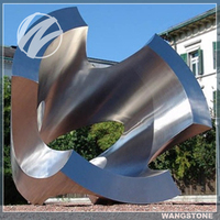 Modern Decoration Large Metal Outdoor Sculptures For Sale