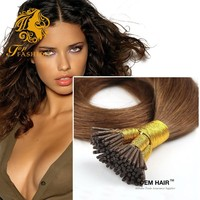 stan smith 90 cm color #2 I Tip hair extensions in miami saga remy hair extensions
