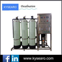Compact designed reverse osmosis desalinator domestic ro system