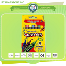 Best selling customized multi color wholesale crayons