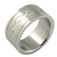 Hot sale good at making customized stainless steel jewelry bottle opener ring