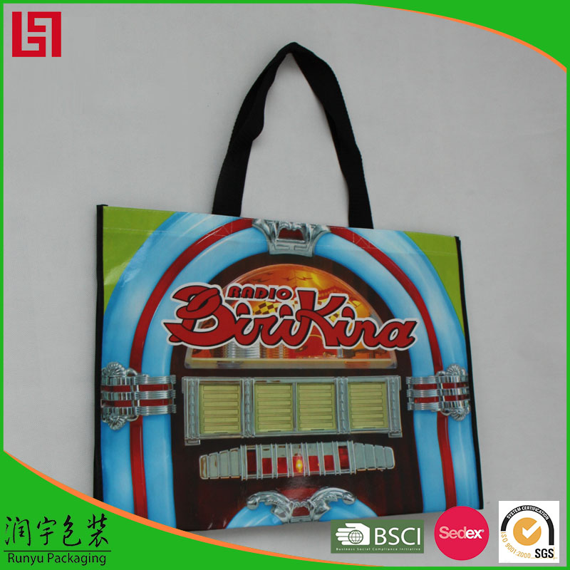 China Supplier reusable vinyl tote shopping bag