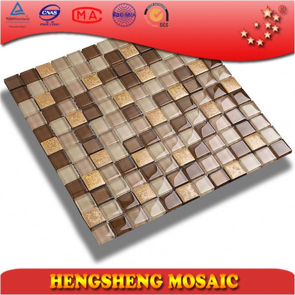 stone design tile high quality china glass mosaic kitchen wall tile