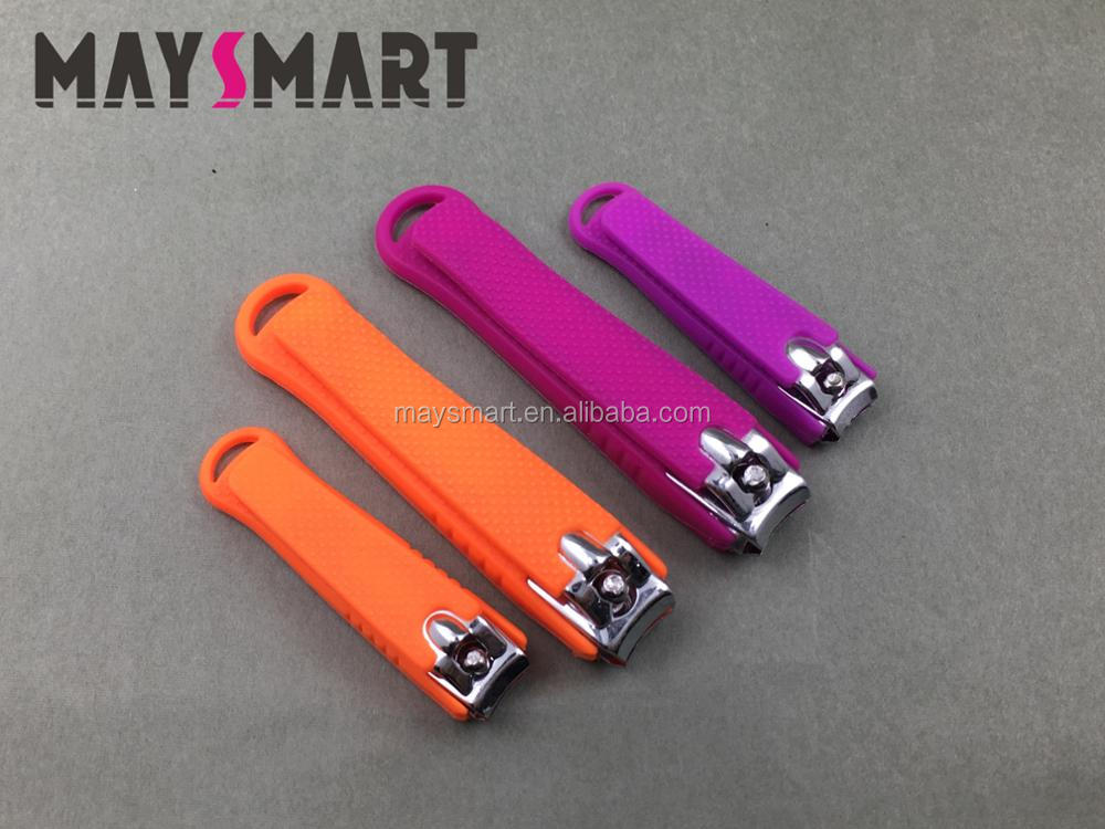 2018 Colourful Carbon Steel Silicon Nail Tool Nail Clippers Nail Cutter