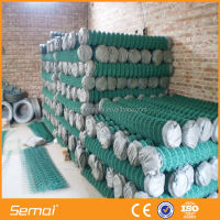 Hot dipped galvanized chain link fence top rail(anping factory ISO9001)