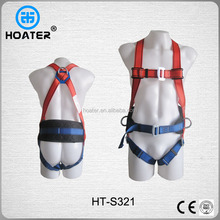 Factory Price Safety Belt Full Body Harness With Shock Absorber Lanyard