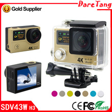 small hd video camera 4K WIFI Action Camera Super High Quality Sport Camera Double Screen shot and Record