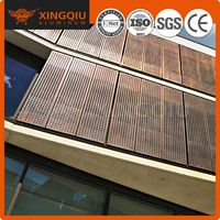 Exterior wall direct sheet metal fabrication curtain wall decorative mesh