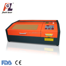 Flash laser top quality 40W mini laser engraving and cutting machine 3020