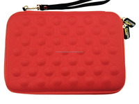 "7-Inch Tablet Semi-rigid EVA Bubble Foam Case (Red),7"" Capacitive Touchscreen Tablet + One Capacitive Stylus Pen"