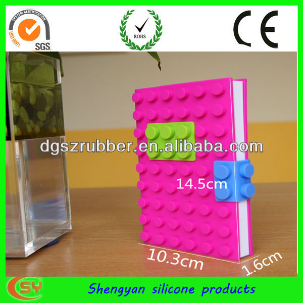 Dongguan silicone office stationery set note book