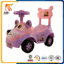 New small without battery beauty plastic baby push toy car