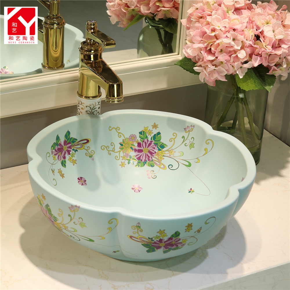 sanitary ware ceramic bathroom basin for washing clothes