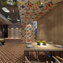 foshan 3d colors ceramic/cement style floor and wall 200*200 tile/innterior tile