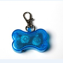 wholesale LED plastic dog ID tag pet tag for animal