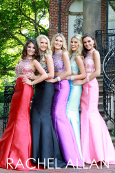 New Listing 2016 Two Piece Prom Dresses Crew Neck Cyrstal Beaded Mermaid Long Formal Party Dresses