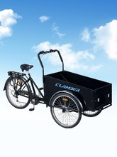 three wheel bicycle / cargo bike front box /24 inch cycle/clamber 9027