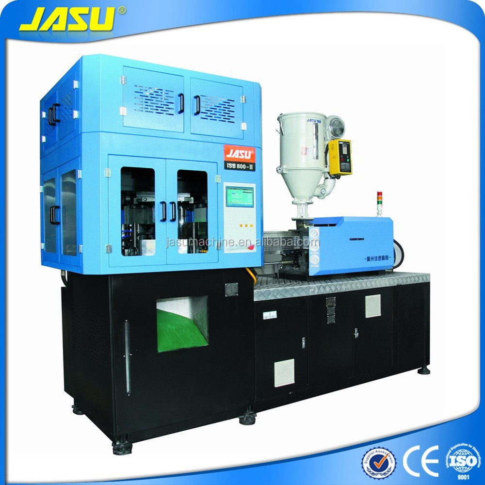 LED bulb cover making machine, vertical injection blow moulding machine
