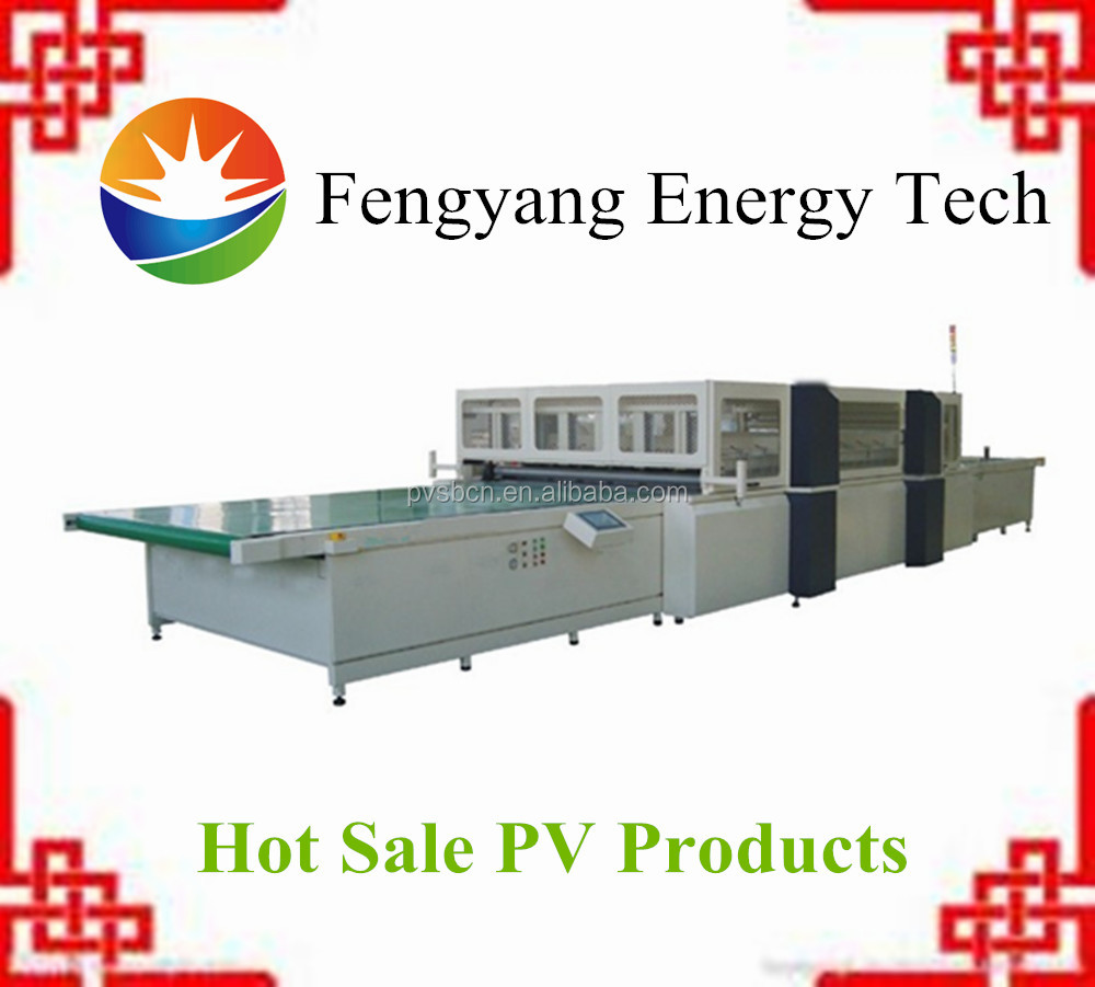 Automatic PV solar panel laminating machine price