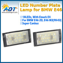 auto parts ,led light ,lpl Canbus led number plate bulb for BMW E46 2D