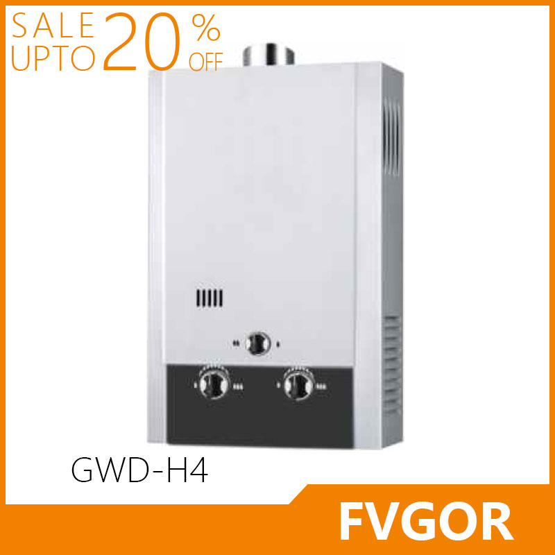 Fvgor GWD-H4 low pressure wall mounted hot instant gas water heater