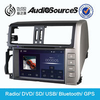 "7"" HD TFT LCD car dvd player for Toyota Pardo with camera map MP3/MP4 player CD palyer TV 3G in dashboard"