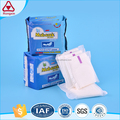 Brands soft cotton sanitary napkins sanitary pad sanitary towels with single wings