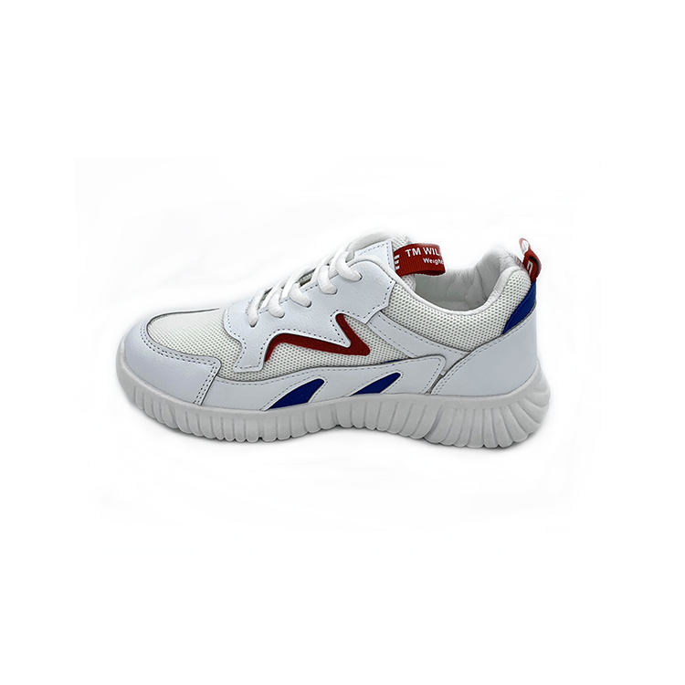 White print breathable casual functional penetration resistant sport safety shoes women