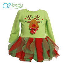 Q2-baby Novelty Products Childrens Boutique Clothing Sets Two Pieces Xmas Baby Clothes