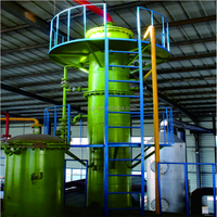 2015 waste pyrolysis oil refining to diesel distillation plant with CE& ISO certificate