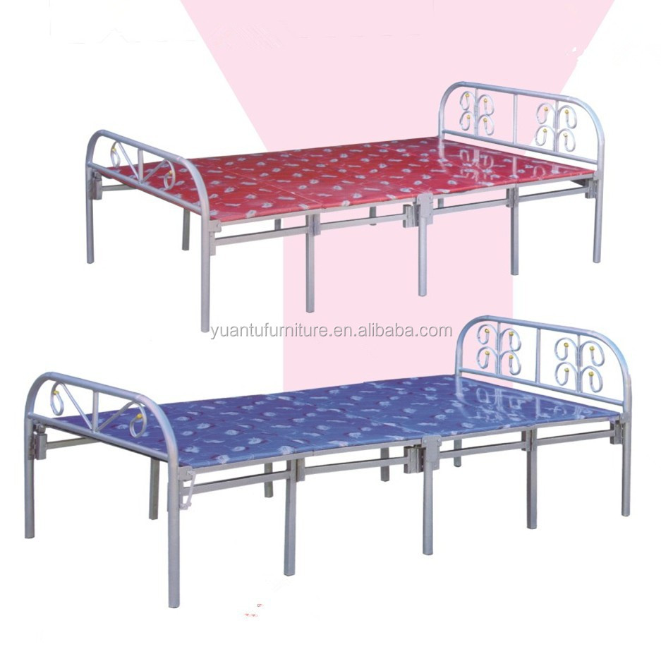 Outdoor Camping Bed, Folding Beach Bed, metal folding bedYTA-009