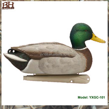 hot sale and wholesale XPE or EVA foam folded duck decoys, plastic hunting decoys for sale