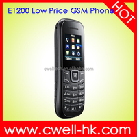 Unlocked Single SIM Card No Camera Econ E1200 Low Price GSM China Mobile Phone oem Mobile Phone