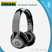Bluetooth Headphones: Headset Wireless Foldable Folding Stereo Earphones with Noise Cancelation Microphone & Rechargeable