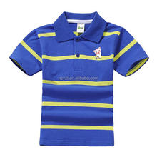 wholesale baby clothing 2017 stripe organic cotton baby clothing baby polo