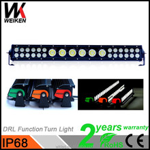 Cre e 12v 20inch led car roof rack light waterproof led grow light bar 132W for Trucks