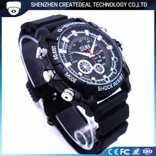A1 Best Seller HD Night Vision 1080p Wrist Watch with Hidden Camera Voice Recorder Webcam