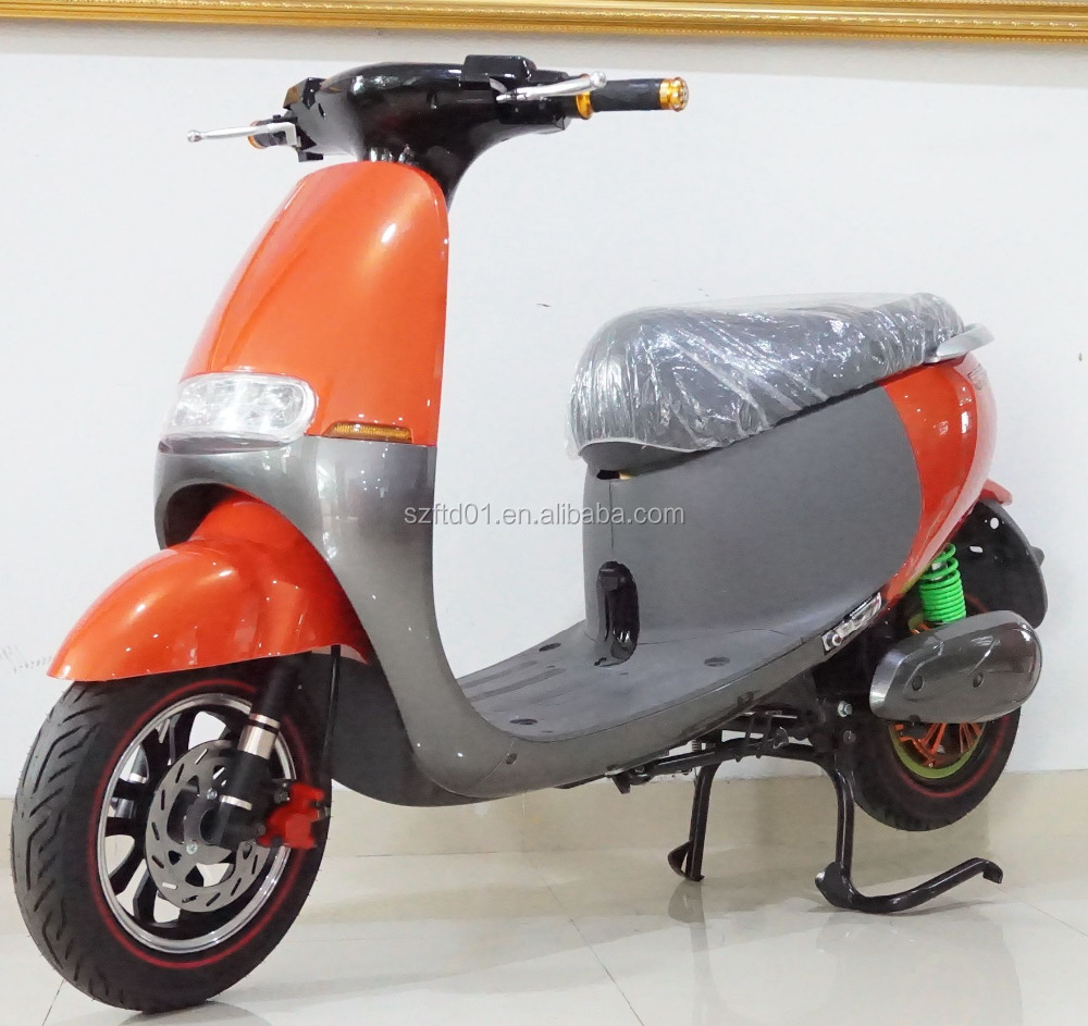 2017 top seller 60v 45km/h lithium battery vespa electric scooter made in china
