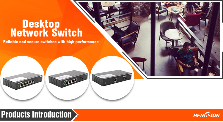 Professional Desktop Network Switch in China