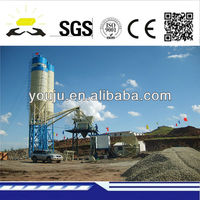 HZS 35 stationary concrete mixing plant