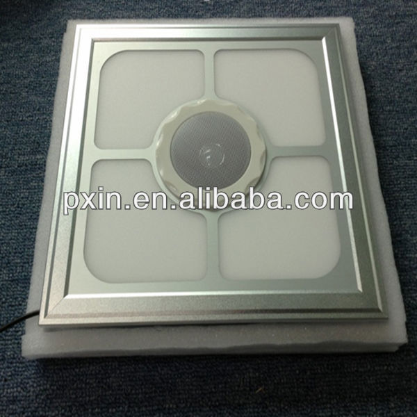 2013 the latest style beautiful Embossed LED panel light with bluetooth music playing