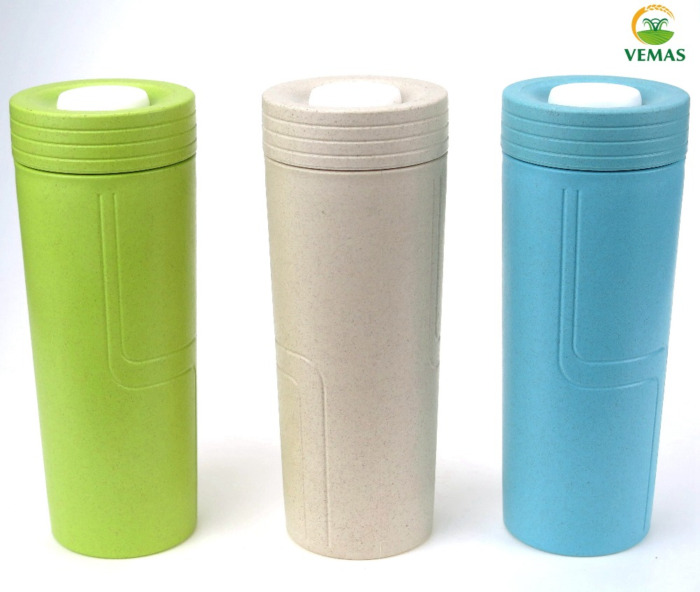 Wholesale paddy fiber Vacuum Flask