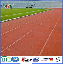outdoor synthetic rubber running track sports surface material
