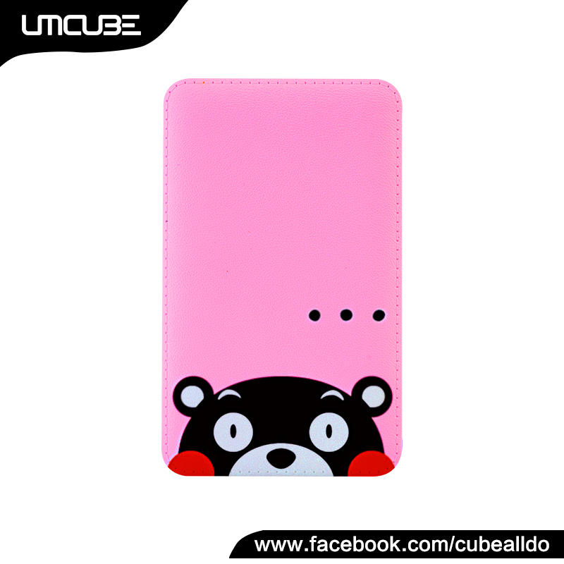 Unique Gifts Kumamon Power Bank, Cartoon Shaped Business Gifts Powerbank