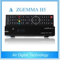 Big promotion ZGEMMA H5 original satellite decoder H.265 tv decoder combo DVB S2 + DVB T2/C