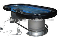 casino professional LED poker table dimension